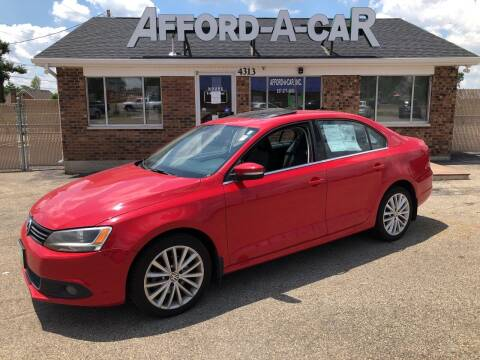 2011 Volkswagen Jetta for sale at Afford-A-Car in Dayton/Newcarlisle/Springfield OH