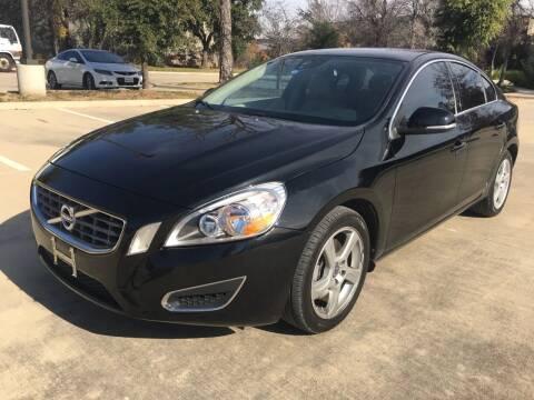 2012 Volvo S60 for sale at Safe Trip Auto Sales in Dallas TX