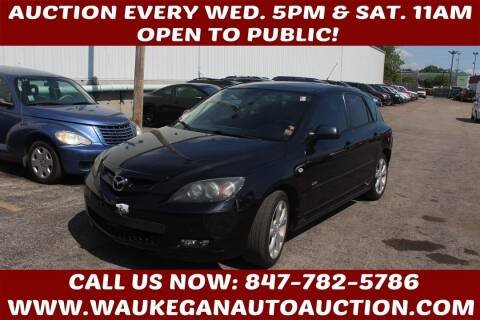 2008 Mazda MAZDA3 for sale at Waukegan Auto Auction in Waukegan IL