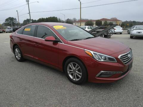 2015 Hyundai Sonata for sale at Kelly & Kelly Supermarket of Cars in Fayetteville NC