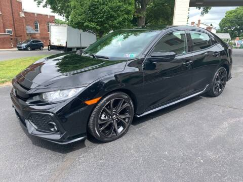 2018 Honda Civic for sale at On The Circuit Cars & Trucks in York PA