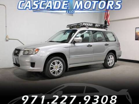 2008 Subaru Forester for sale at Cascade Motors in Portland OR
