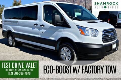 2019 Ford Transit Passenger for sale at Shamrock Group LLC #1 in Pleasant Grove UT