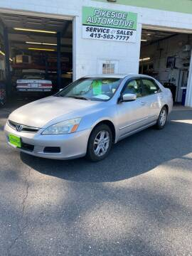 2007 Honda Accord for sale at Pikeside Automotive in Westfield MA