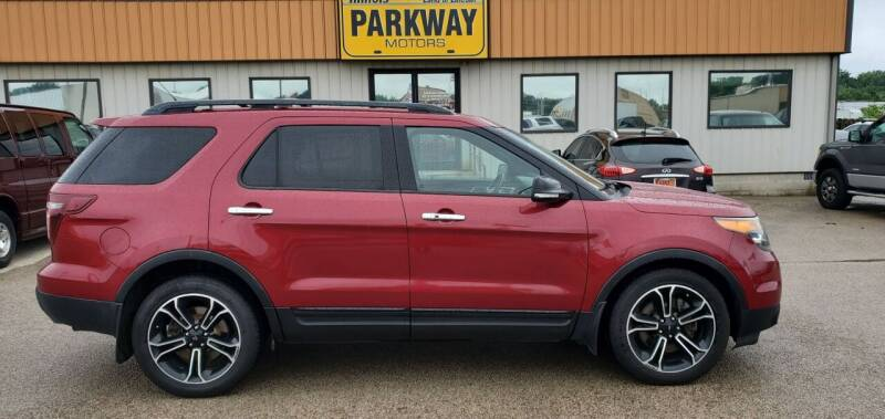 2014 Ford Explorer for sale at Parkway Motors in Springfield IL
