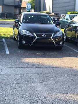 2008 Lexus IS 250 for sale at Bad Credit Call Fadi in Dallas TX