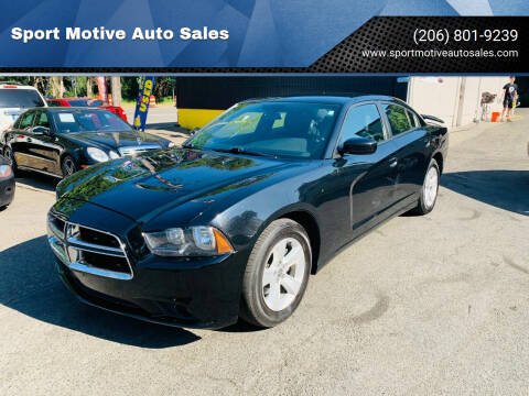 2014 Dodge Charger for sale at Sport Motive Auto Sales in Seattle WA