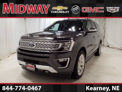 2019 Ford Expedition MAX for sale at Midway Auto Outlet in Kearney NE