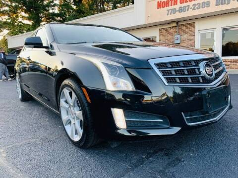 2013 Cadillac ATS for sale at North Georgia Auto Brokers in Snellville GA