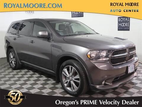 2013 Dodge Durango for sale at Royal Moore Custom Finance in Hillsboro OR