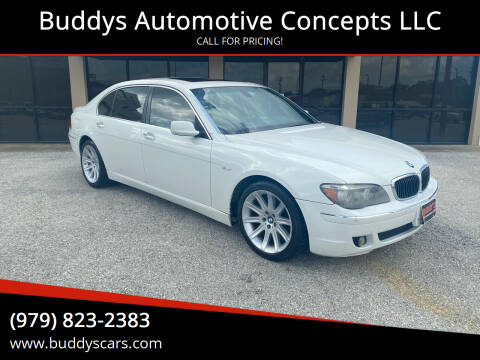 2006 BMW 7 Series for sale at Buddys Automotive Concepts LLC in Bryan TX