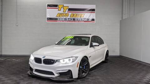 2015 BMW M3 for sale at TT Auto Sales LLC. in Boise ID