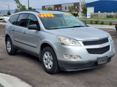 2010 Chevrolet Traverse for sale at FRESH TREAD AUTO LLC in Springville UT