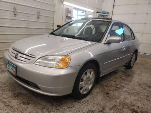 2002 Honda Civic for sale at Jem Auto Sales in Anoka MN