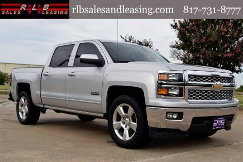 2015 Chevrolet Silverado 1500 for sale at RLB Sales and Leasing in Fort Worth TX