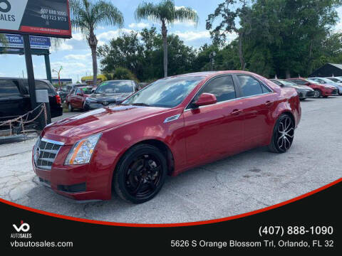 2009 Cadillac CTS for sale at V & B Auto Sales in Orlando FL