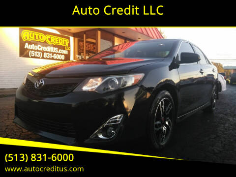 2013 Toyota Camry for sale at Auto Credit LLC in Milford OH