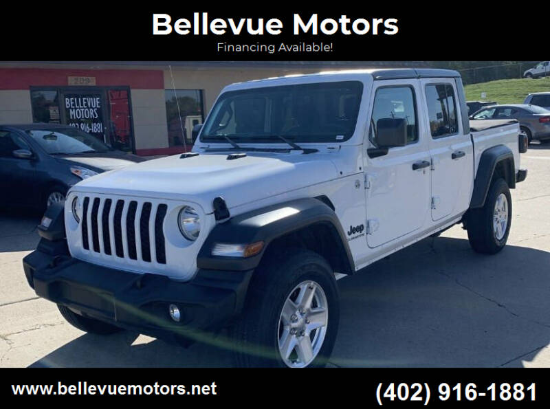 2020 Jeep Gladiator for sale at Bellevue Motors in Bellevue NE