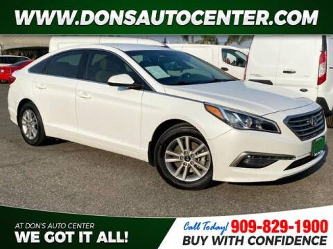 2015 Hyundai Sonata for sale at Dons Auto Center in Fontana CA