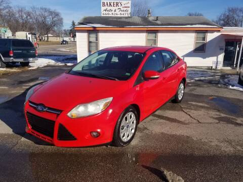 2012 Ford Focus for sale at Bakers Car Corral in Sedalia MO