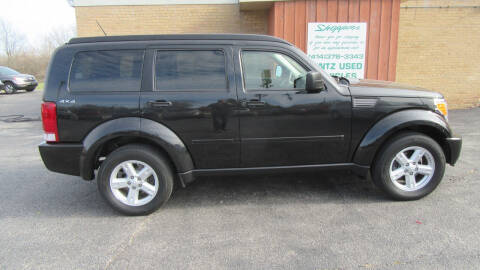2009 Dodge Nitro for sale at LENTZ USED VEHICLES INC in Waldo WI