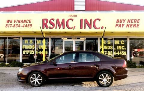 2011 Ford Fusion for sale at Ron Self Motor Company in Fort Worth TX