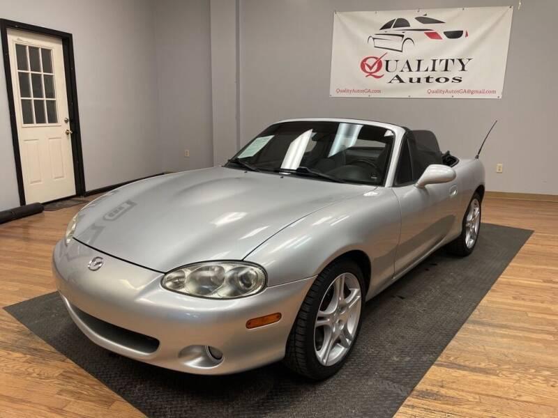 2005 Mazda MX-5 Miata for sale at Quality Autos in Marietta GA