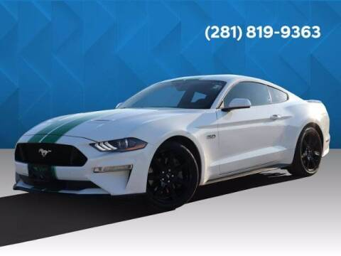 2018 Ford Mustang for sale at BIG STAR HYUNDAI in Houston TX