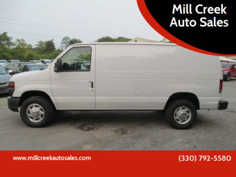 2012 Ford E-Series Cargo for sale at Mill Creek Auto Sales in Youngstown OH