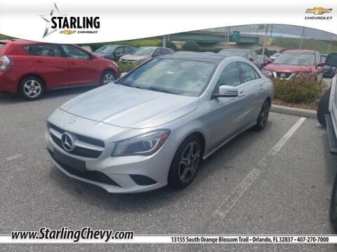 2014 Mercedes-Benz CLA for sale at Pedro @ Starling Chevrolet in Orlando FL