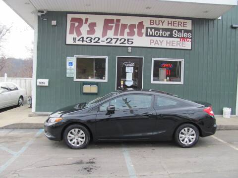 2012 Honda Civic for sale at R's First Motor Sales Inc in Cambridge OH