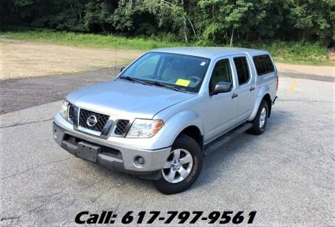 2010 Nissan Frontier for sale at Wheeler Dealer Inc. in Acton MA