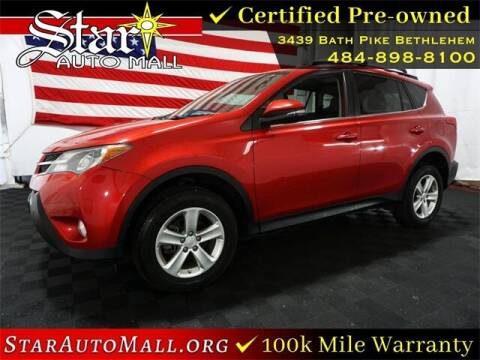 2013 Toyota RAV4 for sale at STAR AUTO MALL 512 in Bethlehem PA