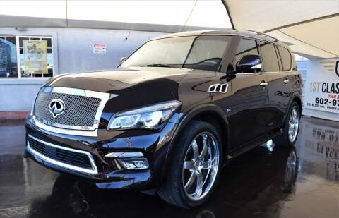 2015 Infiniti QX80 for sale at 1st Class Motors in Phoenix AZ