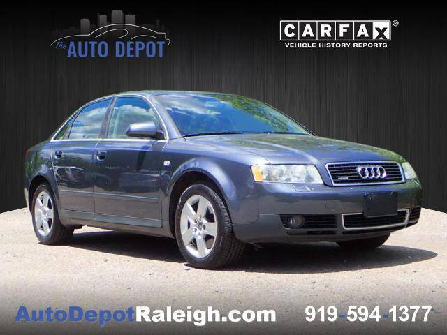 2004 Audi A4 for sale at The Auto Depot in Raleigh NC
