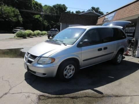 2003 Dodge Grand Caravan for sale at Millbrook Auto Sales in Duxbury MA