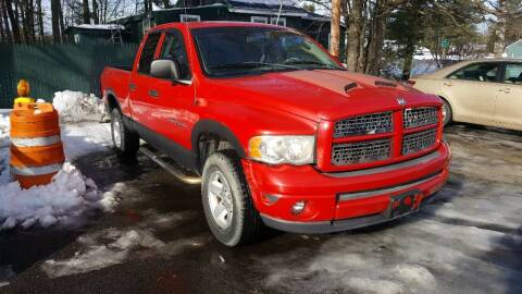 2002 Dodge Ram Pickup 1500 for sale at Still Waters Auto Sales & Service in Standish ME