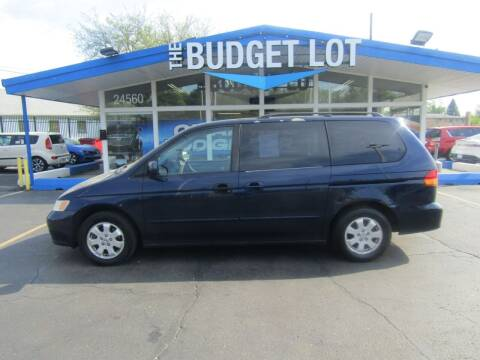 2003 Honda Odyssey for sale at THE BUDGET LOT in Detroit MI