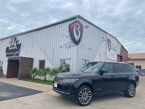 2018 Land Rover Range Rover for sale at Barrett Auto Gallery in San Juan TX