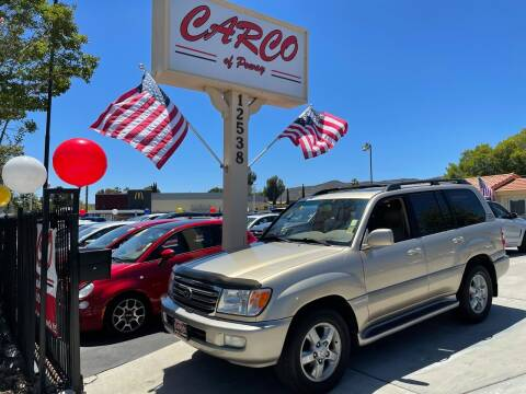 2003 Toyota Land Cruiser for sale at CARCO SALES & FINANCE - CARCO OF POWAY in Poway CA