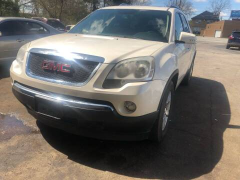 2008 GMC Acadia for sale at Right Place Auto Sales in Indianapolis IN