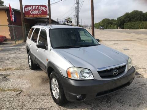 2004 Mazda Tribute for sale at Quality Auto Group in San Antonio TX