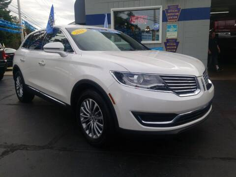 2016 Lincoln MKX for sale at Fleetwing Auto Sales in Erie PA