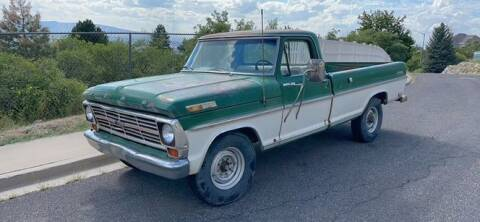 1969 Ford F-250 for sale at Classic Car Deals in Cadillac MI