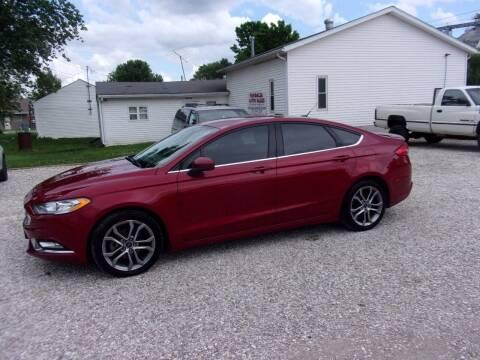 2017 Ford Fusion for sale at VANDALIA AUTO SALES in Vandalia MO