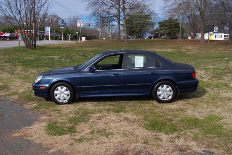 2003 Hyundai Sonata for sale at Blackwood's Auto Sales in Union SC