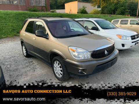 2005 Buick Rendezvous for sale at SAVORS AUTO CONNECTION LLC in East Liverpool OH