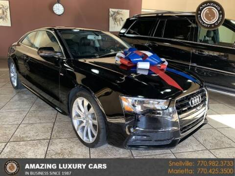 2016 Audi A5 for sale at Amazing Luxury Cars in Snellville GA