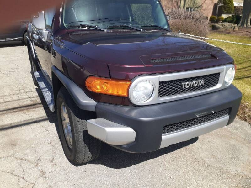 2007 Toyota FJ Cruiser for sale at RP MOTORS in Canfield OH