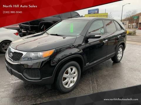 2012 Kia Sorento for sale at North Hill Auto Sales in Akron OH
